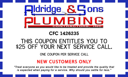 Aldridge & Sons Coupon